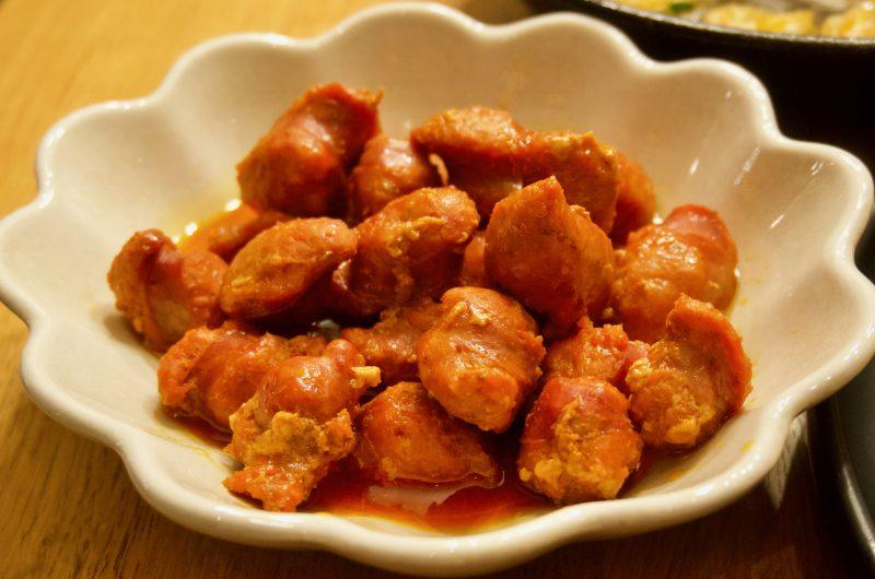 Chorizo a la sidra