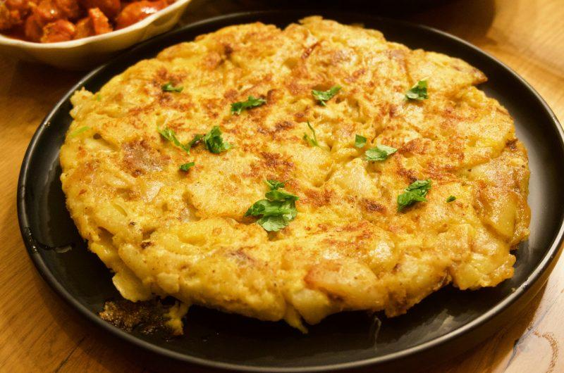 Tortilla de Patatas - Spansk omelett