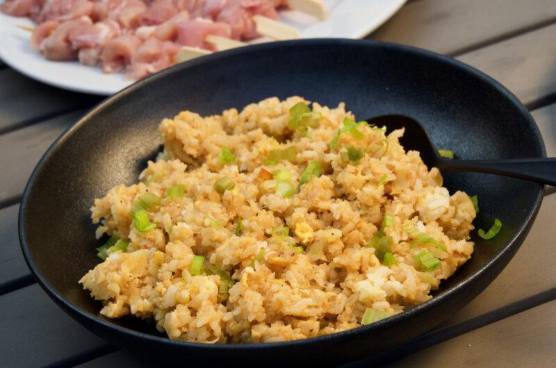 Stekt japanskt ris