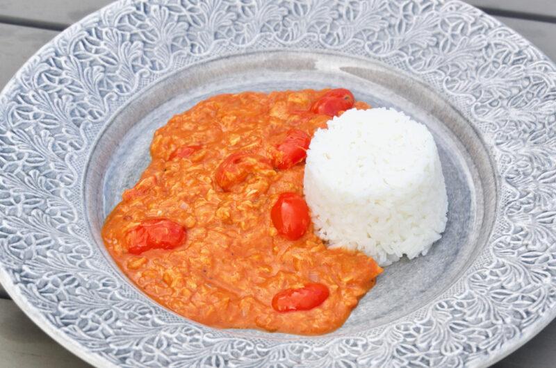 Het tonfisksås med ris