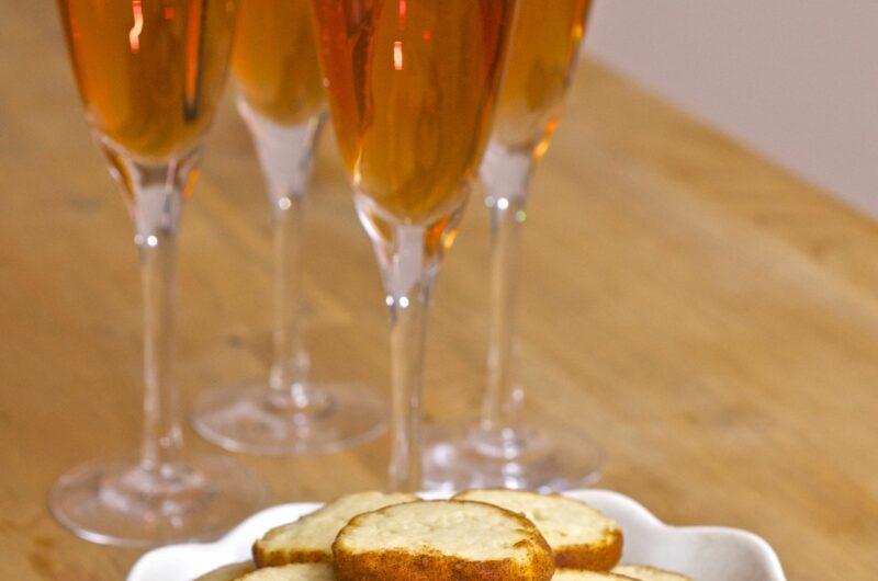 Champagnekakor